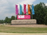 Entrance to the NC Museum of Art
