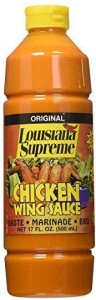 Louisiana Supreme Chicken Wing Sauce
